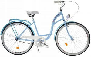 Retro bicykel DALLAS modrý