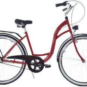 Retro bicykel DALLAS červeno čierny