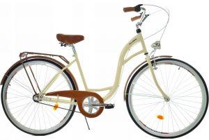 Retro bicykel DALLAS krémový
