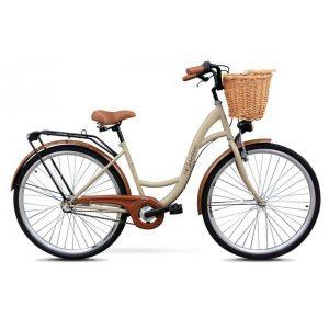 Retro bicykel GOETZE CLASSIC cappuccino