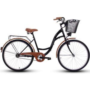Retro bicykel GOETZE ECO čierny