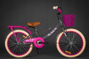 Detský bicykel DAISE šedý 5-8 rokov