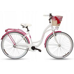 Retro bicykel GOETZE BLUEBERRY bielo-fialový