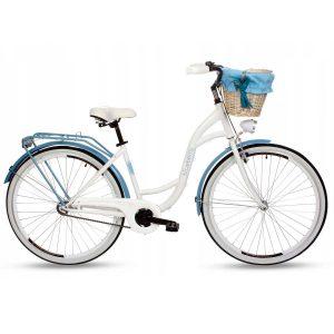 Retro bicykel GOETZE BLUEBERRY bielo-modrý