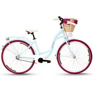 Retro bicykel GOETZE COLOURS modro-purpurový