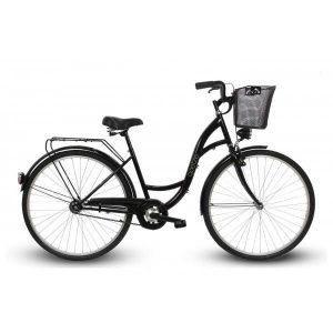 """Retro bicykel GOETZE ECO 28"""" čierny"""