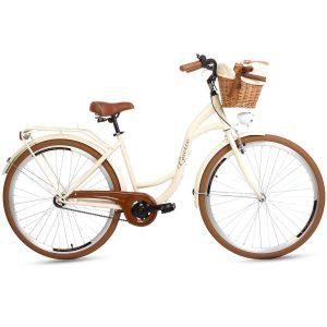 Retro bicykel GOETZE LTD/STYLE krémový
