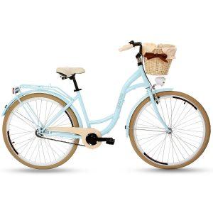 Retro bicykel GOETZE STYLE/LTD slabo modrý