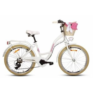 Detský retro bicykel GOETZE MOOD bielo-krémový