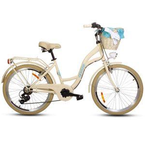 Detský retro bicykel GOETZE MOOD krémový