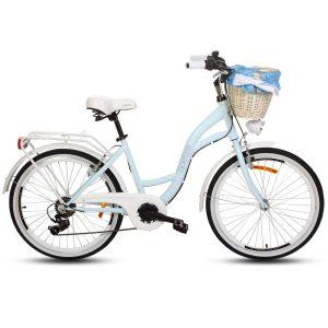Detský retro bicykel GOETZE MOOD modrý