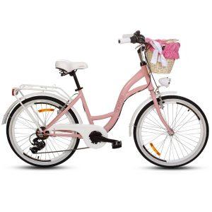 Detský retro bicykel GOETZE MOOD ružový