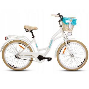 Detský retro bicykel GOETZE STYLE bielo krémový