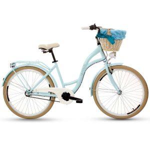 Retro bicykel GOETZE COLOURS LTD modro-krémový