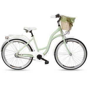 Retro bicykel hliníkový GOETZE STYLE Mätový