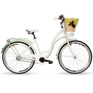 Retro bicykel GOETZE BLUEBERRY bielo-zelený