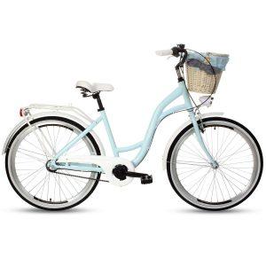 Retro bicykel hliníkový GOETZE STYLE modrý