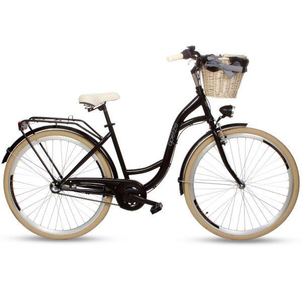 Retro bicykel GOETZE COLOURS čierno krémový