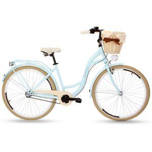 Retro bicykel GOETZE LTD/STYLE slabo modrý