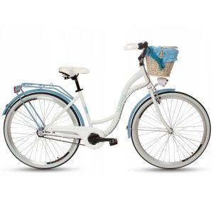 Retro bicykel GOETZE BLUEBERRY bielo modrý