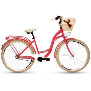 Retro bicykel GOETZE STYLE malinový