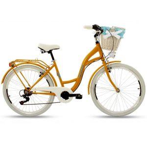 Retro bicykel GOETZE MOOD oranžový