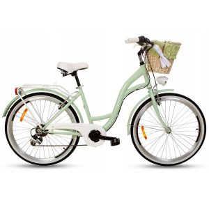 Retro bicykle GOETZE MOOD pistácia