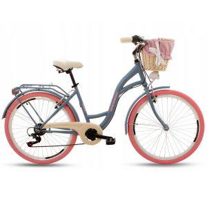 Retro bicykel GOETZE MOOD modro-ružový