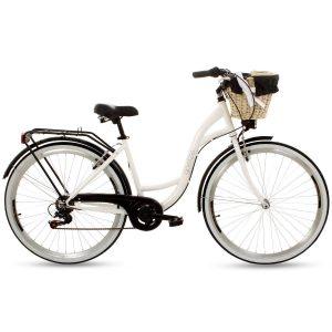 Retro bicykel GOETZE MOOD bielo čierny