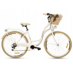 Retro bicykel GOETZE MOOD bielo-krémový
