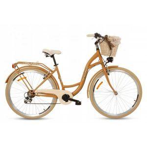 Retro bicykel GOETZE MOOD horčicový