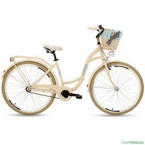 Retro bicykel GOETZE LTD krémovo-modrý