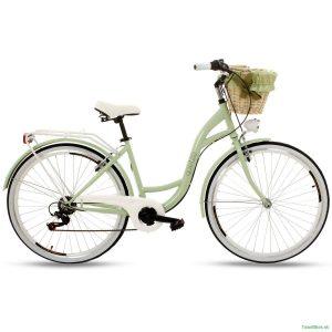 Retro bicykel GOETZE MOOD pistáciový