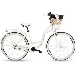 Retro bicykel hliníkový GOETZE STYLE biely