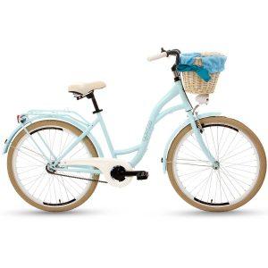 Retro bicykel GOETZE COLOURS modro-krémový
