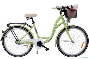 Retro bicykel GOOSE ELITE Limetka