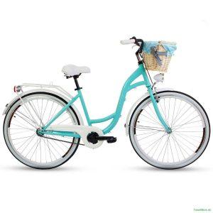 Retro bicykel GOETZE BLUEBERRY tyrkysový