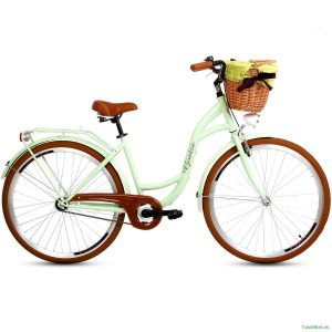 Retro bicykel GOETZE STYLE pistáciový