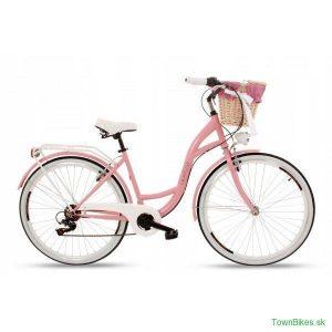 Retro bicykel GOETZE MOOD ružový