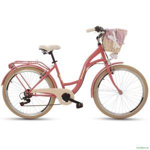 Retro bicykel GOETZE MOOD malinový