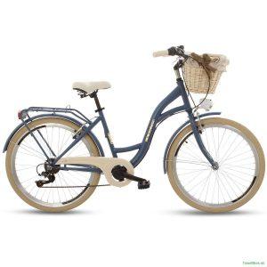 Retro bicykel GOETZE MOOD safírovo-krémový