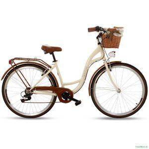 Retro bicykel GOETZE MOOD krémový