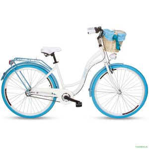 Retro Bicykel GOETZE COLOURS bielo-modrý