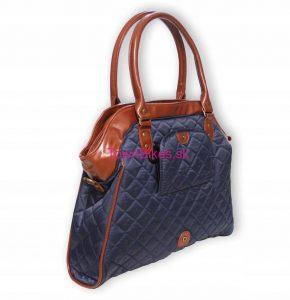 Taška/kabelka na zadný nosič modrá 15L