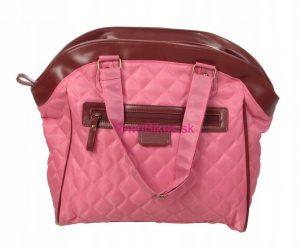 Taška/kabelka na zadný nosič ružová 15L