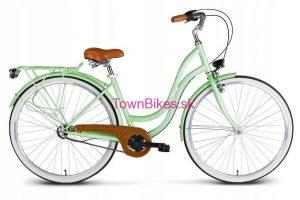 Retro bicykel VELLBERG metovej farby 28 3-prevodový 2019