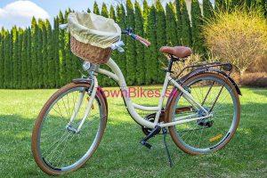 Retro bicykel GOETZE MOOD krémový + video ukážka