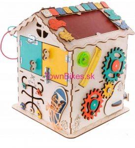 Manipulačný domček (Activity Board) pre deti 19v1