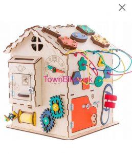 Manipulačný domček (Activity Board) pre deti 16v1