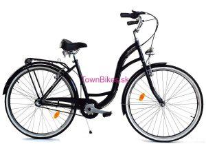 Retro bicykel DALLAS čierny